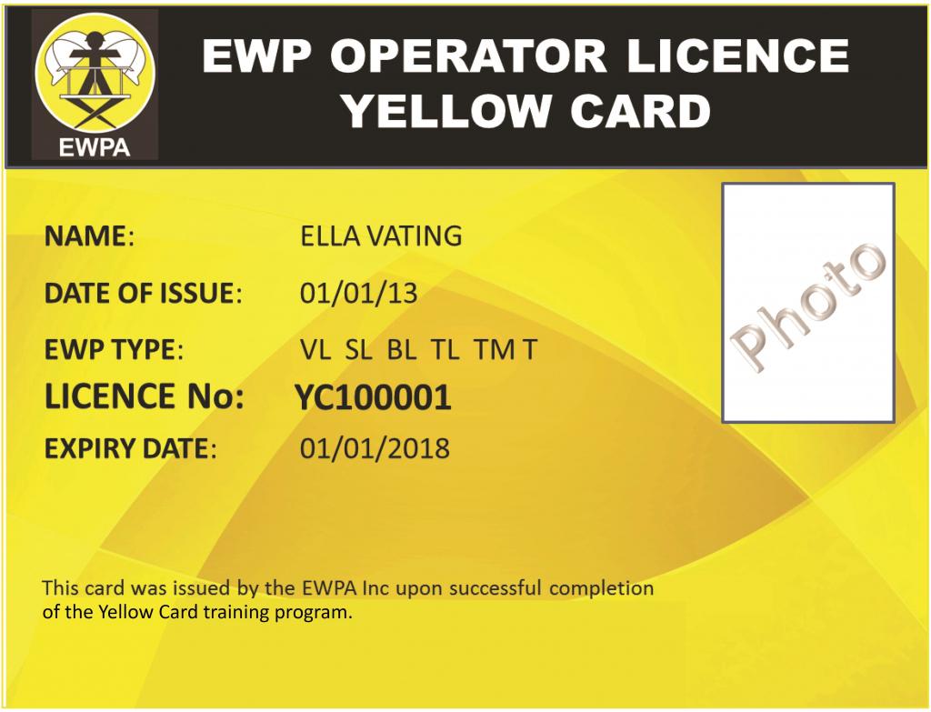 Scissor Lift Certification Card Template - Reeviewer.co   Free Printable Forklift Certification Cards