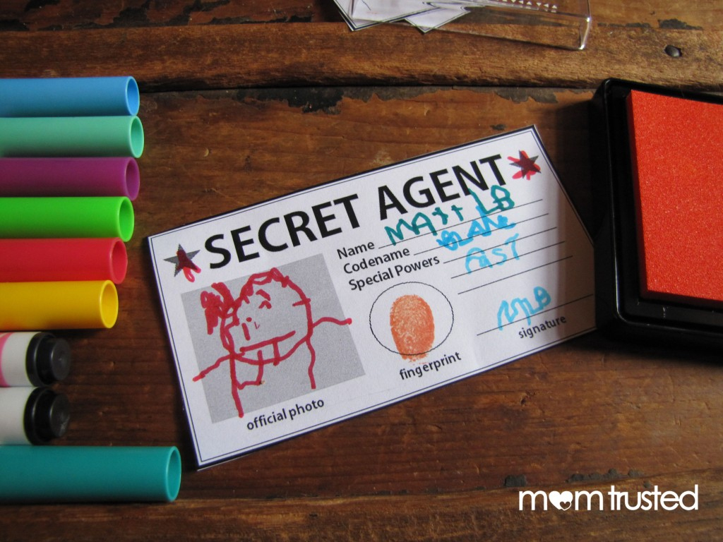 Secret Agent Id Card – Free Printable! | Preschool Activities And | Printable Spy Id Cards
