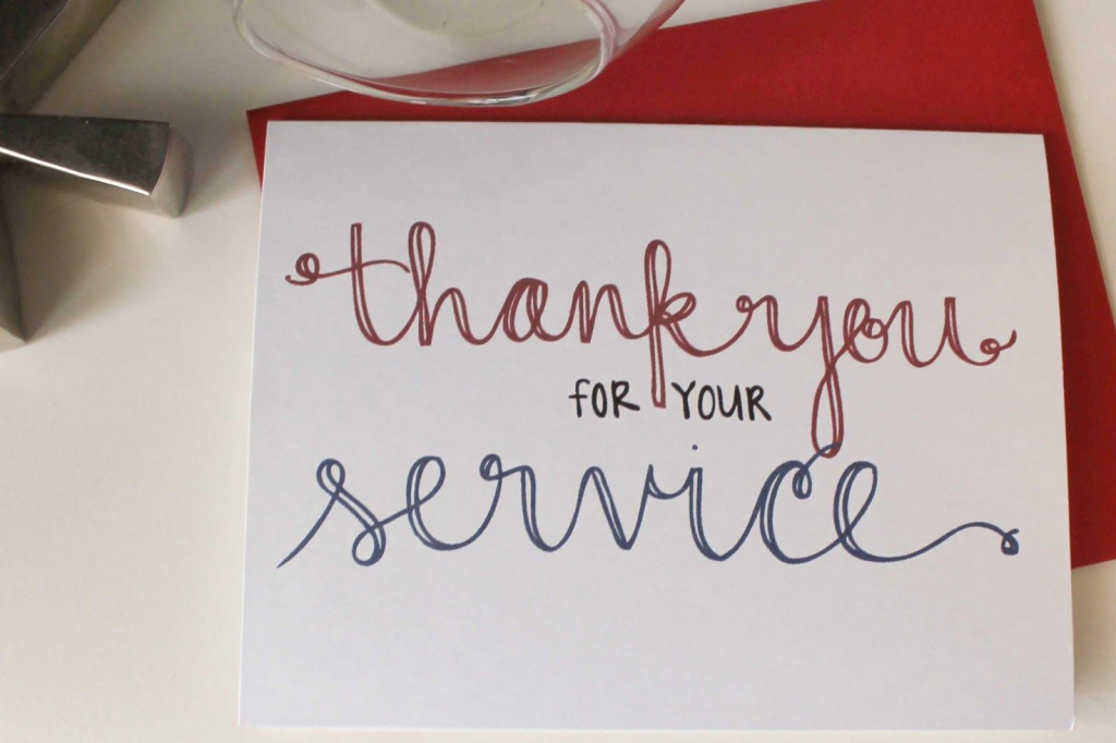 Send A Thank You Card To Our Troops   Diy Notecards   Free Printable   Free Printable Thank You Cards For Soldiers