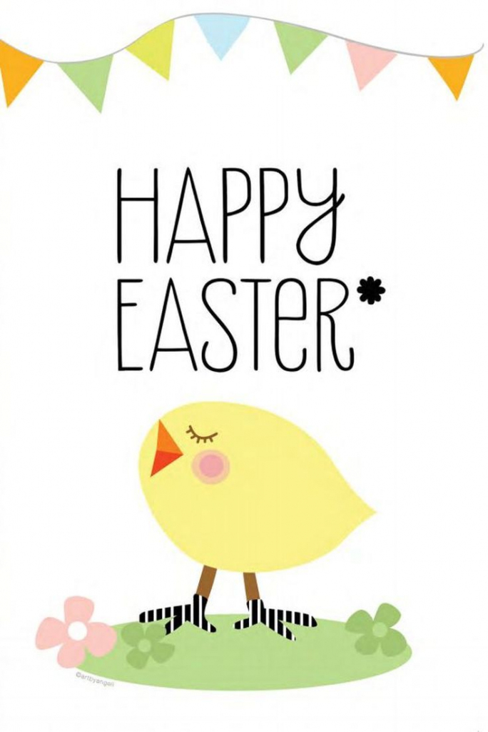 Send Some Easter Love With These Free Printable Cards   Face   Free Printable Easter Cards