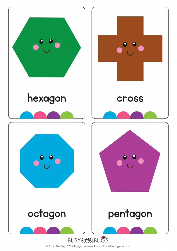 Shape Flash Cards | Shapes | Vocabulary | Kids Activities | Geometric Shapes Printable Flash Cards