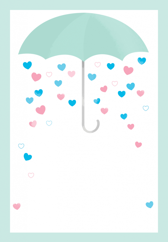 Shower With Love - Free Printable Baby Shower Invitation Template | Free Printable Baby Registry Cards