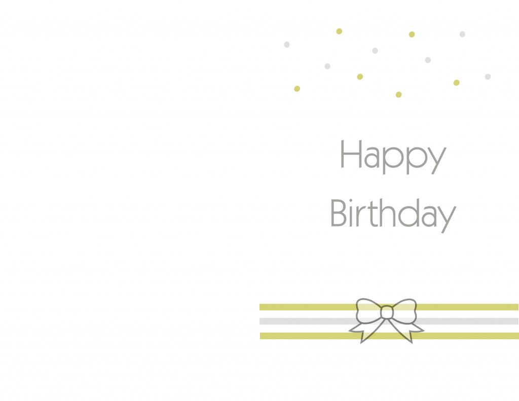 Simple Printable Birthday Cards - Kleo.bergdorfbib.co | Free Printable Hallmark Cards