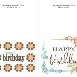 Small Printable Birthday Cards | Zwonzorg | Printable Birthday Cards For Wife