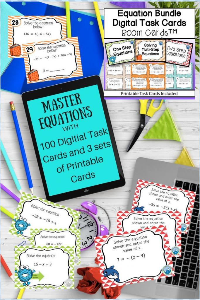 Solving Equations B00M Card Bundle Plus Printable Cards | Blue | Blue Mountain Printable Cards