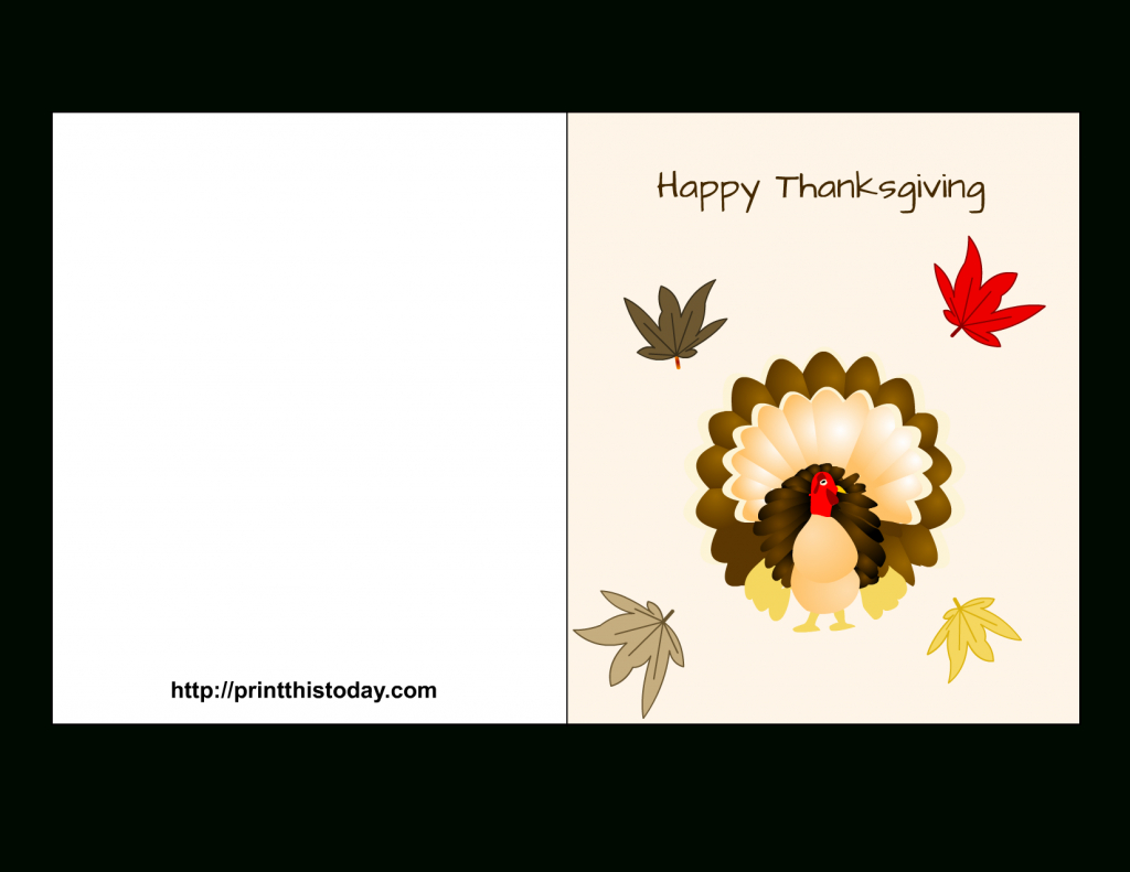"""Special """"happy Thanksgiving Cards"""" Printable For Parents & Friends   Printable Funny Thanksgiving Greeting Cards"""