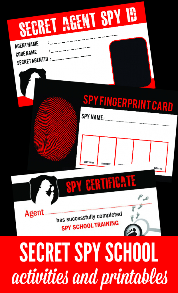 Spy School Kids Activities | Coffee Cups And Crayons | Printable Spy Id Cards