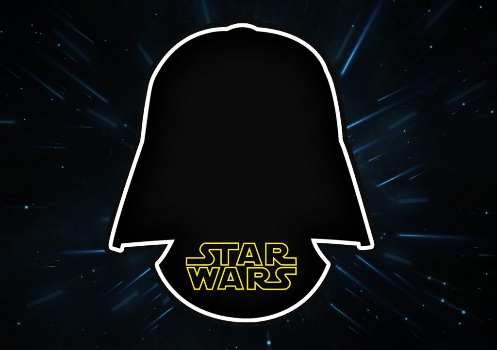 Star Wars: Free Printable Invitations. - Oh My Fiesta! For Geeks | Star Wars Printable Cards Free