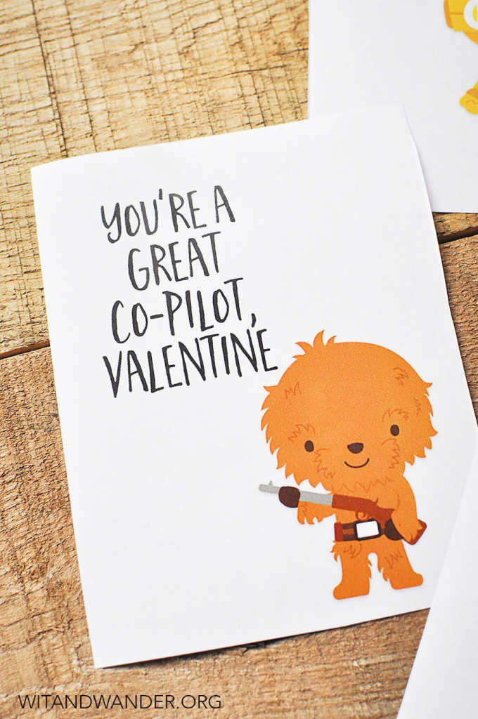 Star Wars Valentine's Day Cards For Kids | Cards | Valentine's Cards | Printable Star Wars Cards