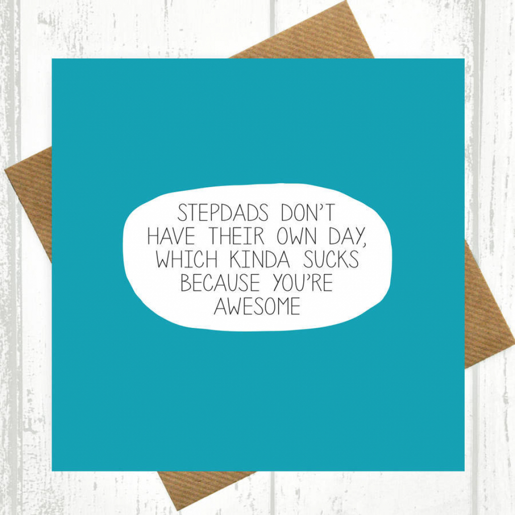 Stepdad Card | Etsy | Printable Step Dad Fathers Day Cards