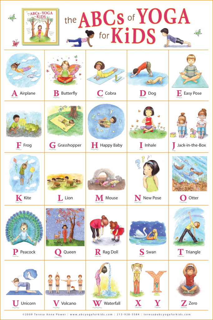 Store - The Abcs Of Yoga For Kids   Printable Yoga Cards For Kids