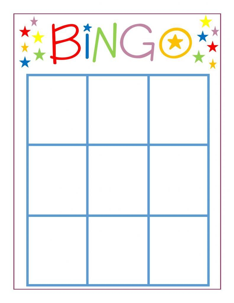 Stupendous Free Bingo Card Template Ideas Blank Excel Printable For   Printable Blank Bingo Cards