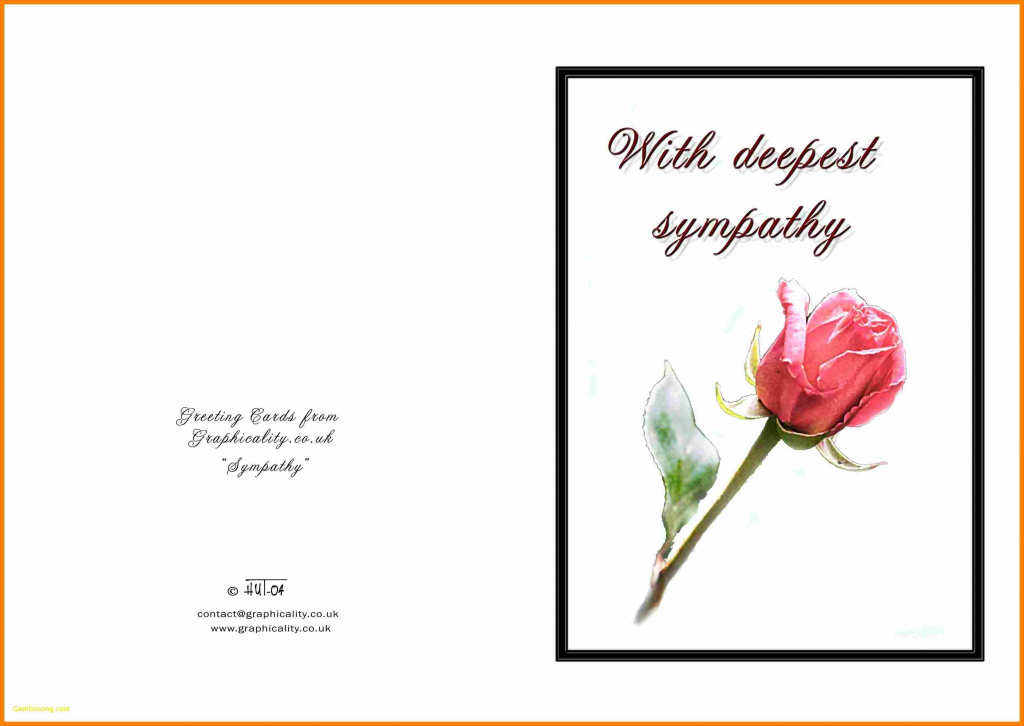 Sympathy Card Free Printable - Canas.bergdorfbib.co | Free Printable Sympathy Card For Loss Of Pet