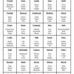 Taboo Kids … | General Academics | Taboo… | Taboo Game Cards Printable