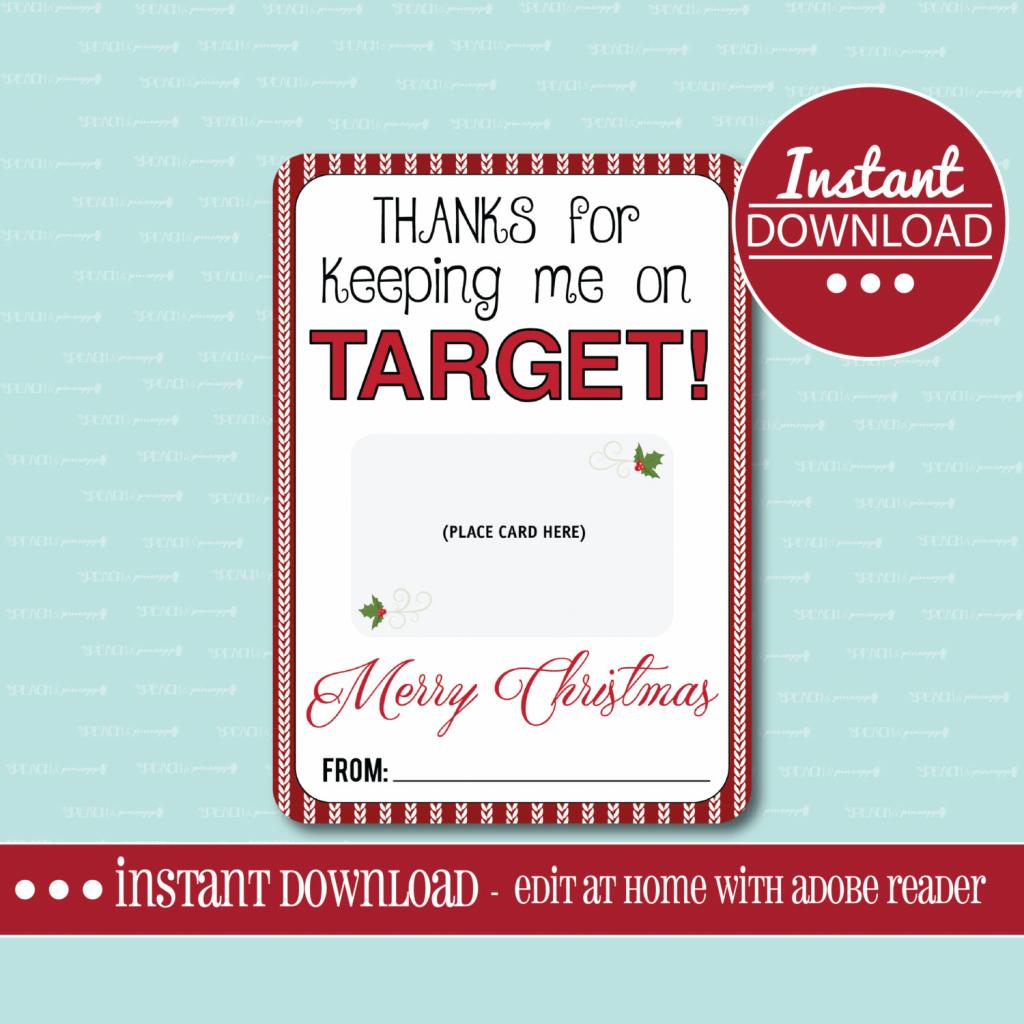 Target Gift Card Holder Printable Gift Card Holder Teacher | Etsy | Printable Target Gift Card