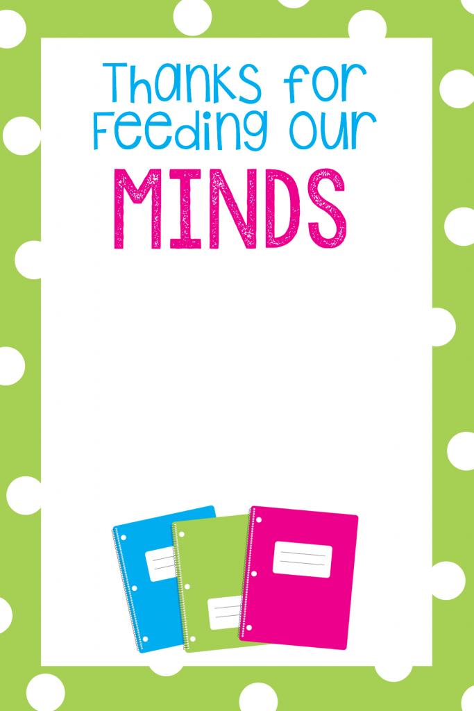 Teacher Appreciation Gift Card Holders | Skip To My Lou - Free | Free Printable Teacher Appreciation Cards