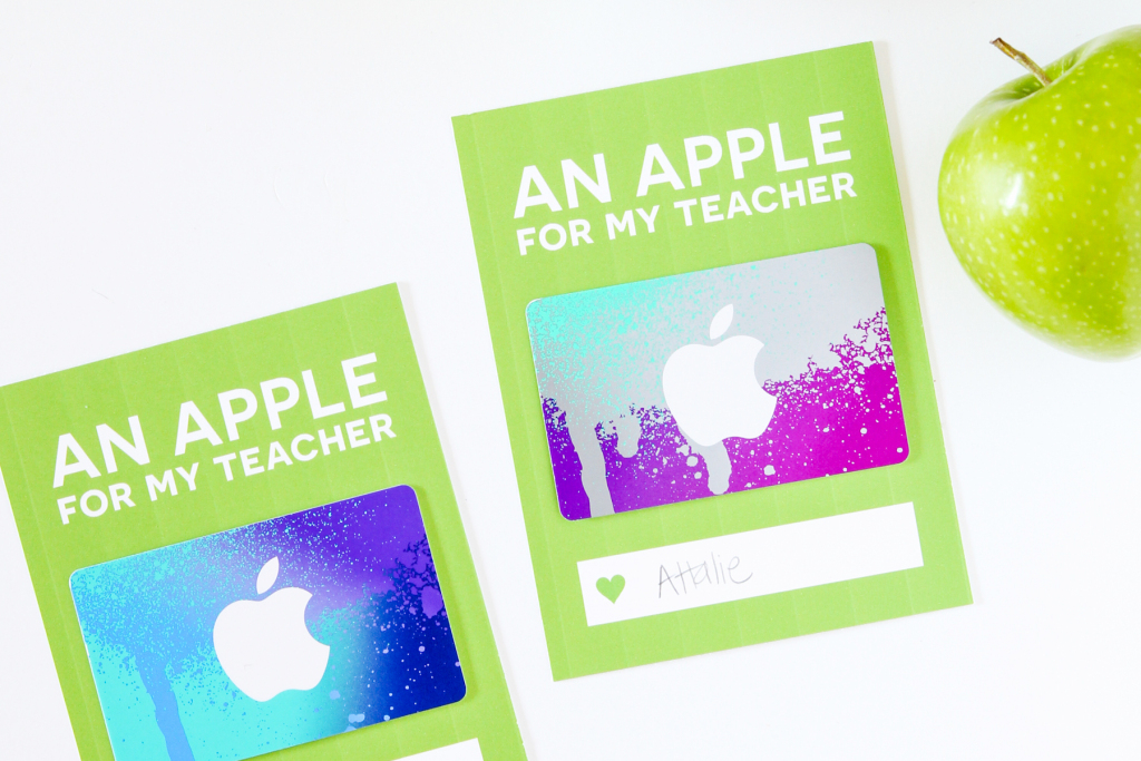 Teacher Appreciation Itunes Gift Card With Paging Supermom | Skip To | Printable Itunes Gift Card