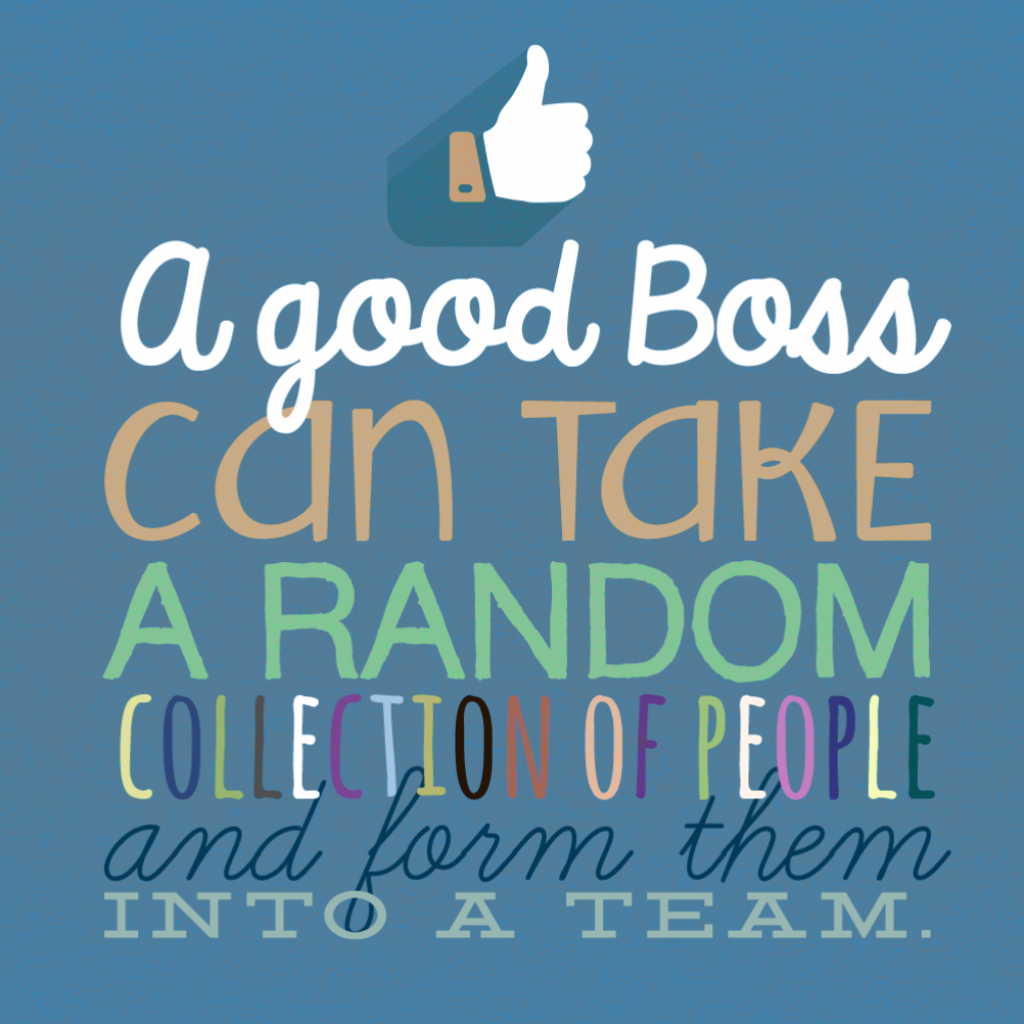Teamwork - Boss Day Card (Free) | Greetings Island | Free Printable Funny Boss Day Cards