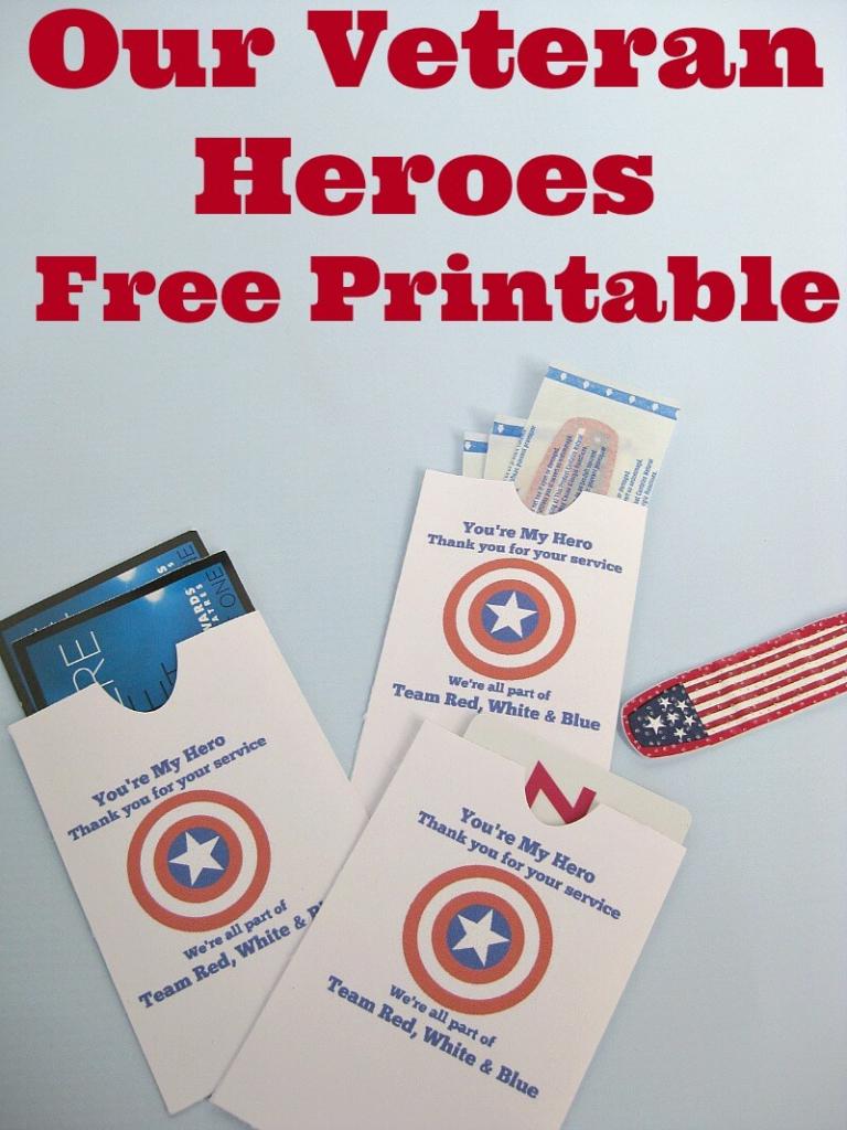 Thank A Veteran Cards Free Printable - Organized 31   Veterans Day Free Printable Cards