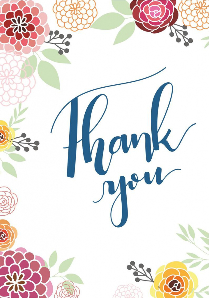 Thank You Card Set Free Printables Free Printable Cards | Etsy | Printable Thank You Cards Pdf