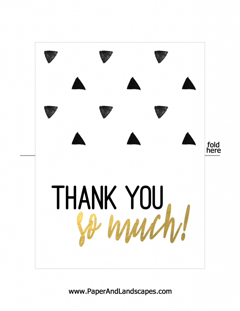 Thank You Cards To Print For Free - Kleo.bergdorfbib.co   Free Printable Custom Thank You Cards