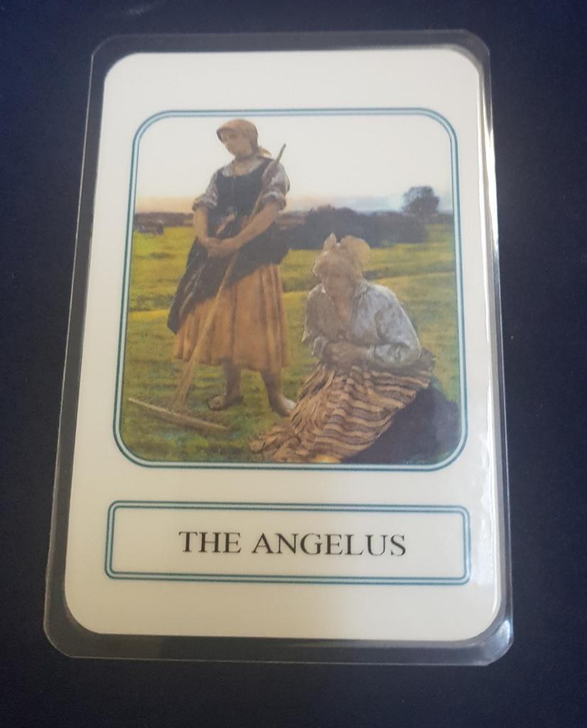 The Angelus, Prayer Card, Angelus Prayer, Religious Card, Prayer | Angelus Prayer Card Printable