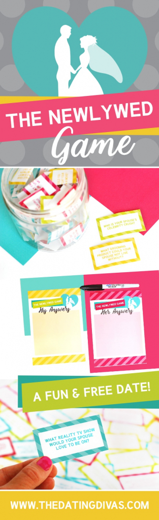 The Newlywed Game - From The Dating Divas | Printable Newlywed Game Cards