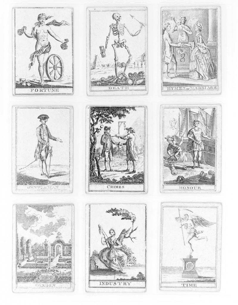 Vintage Fortune Teller Cards, Shrinky Dink Earrings. | Genesis Board | Free Printable Tarot Cards