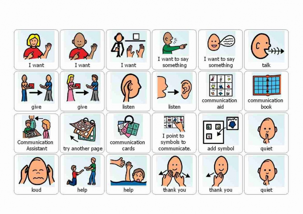 Visual Cue Cards For Use With Autistic Children. Printable And Great   Picture Cards For Autism Printable