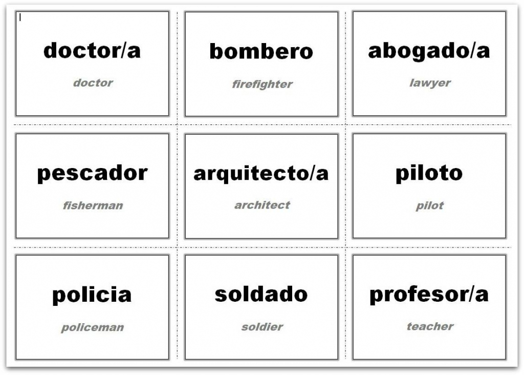 Vocabulary Flash Cards Using Ms Word   Shape Flash Cards Printable Black And White