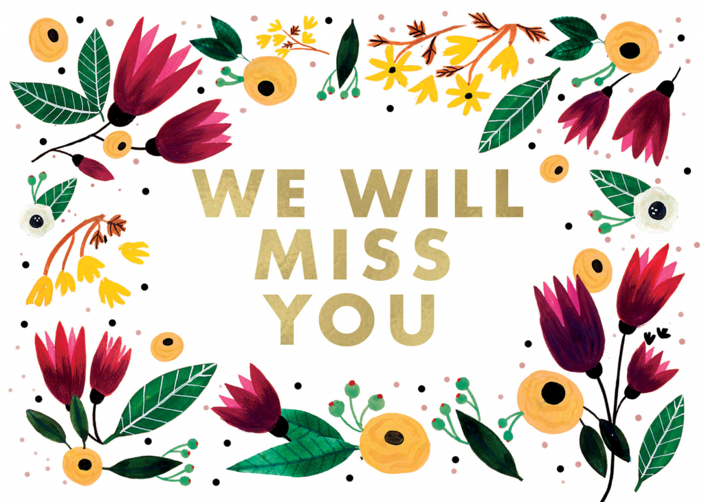 We Will Miss You - Miss You Card (Free) | Greetings Island | Free Printable We Will Miss You Greeting Cards