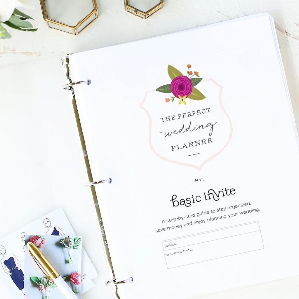 Wedding Planner Printablebasic Invite | Free Printable Enclosure Cards