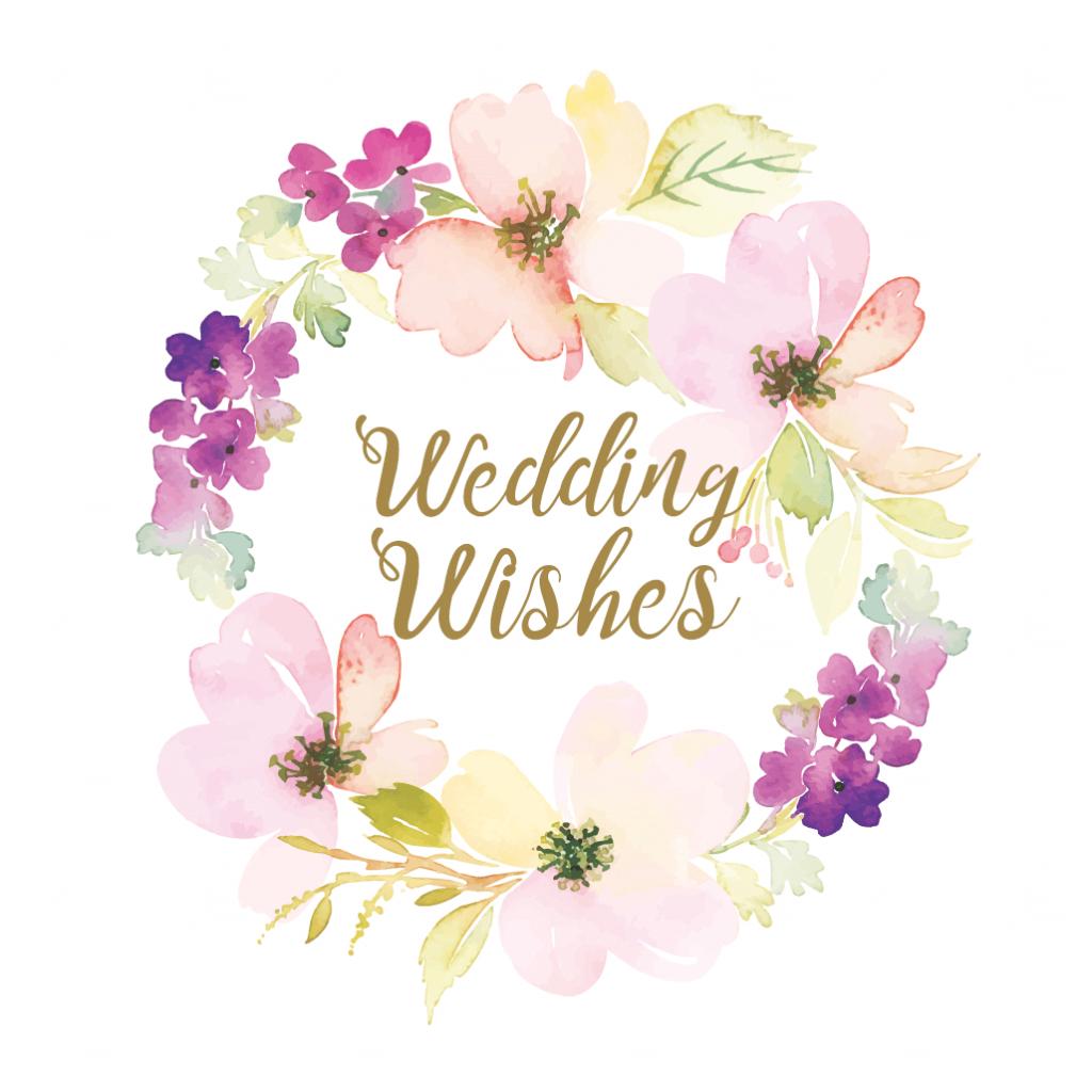 Wedding Wishes - Free Wedding Congratulations Card | Greetings Island | Wedding Wish Cards Printable Free
