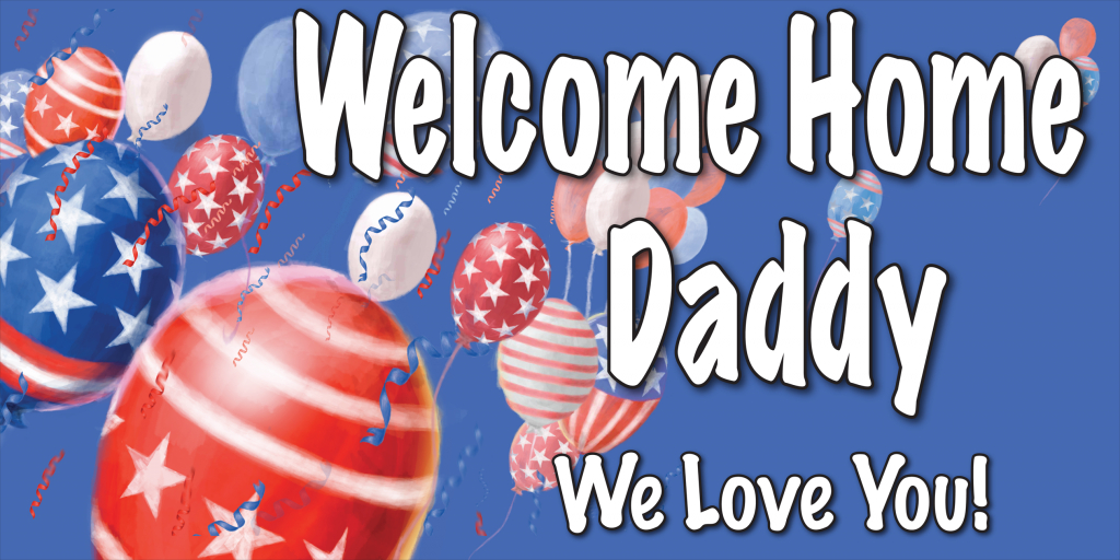 Welcome Home Cards Free Printable   Welcome Home Banners Style #5   Welcome Home Cards Free Printable