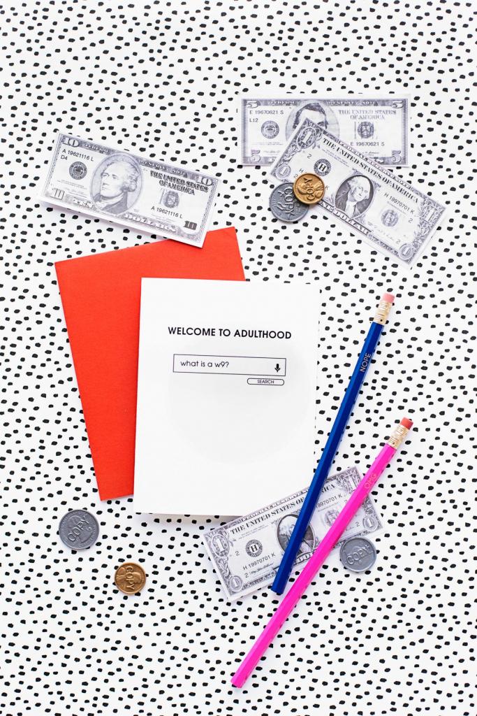 Welcome To Adulthood: Free Printable Graduation Cards | Graduation | Free Printable Graduation Cards