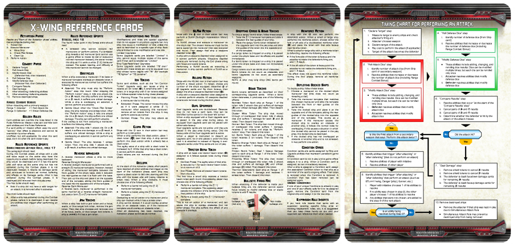 X Wing Cards Print | Alternate Art Cards - 2019-03-02 | X Wing Printable Cards