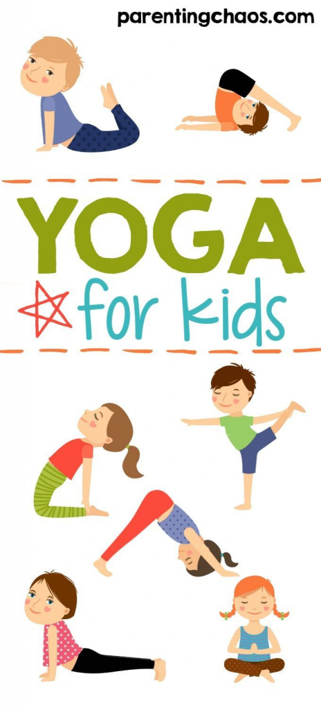 Yoga For Kids + Free Printable | Active & Healthy Living For Kids | Printable Yoga Flash Cards For Kids